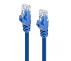 Alogic 0.5m Blue Cat6 Network Cable C6-0.5-blue
