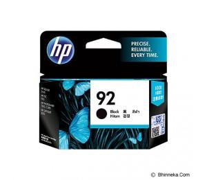 HP 92 Black Original Ink Cartridge C9362WA