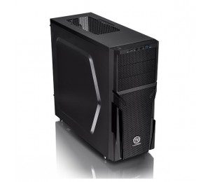 Thermaltake Mid Tower Case: Black Versa H21 With 500w PSU (USB3) CA-3B2-50M1NA-00