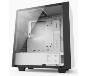 NZXT SOURCE 340 ELITE MATTE WHITE Tempered glass compact ATX Mid-Tower 2x USB 3.0 2x USB 2.0 HDMI