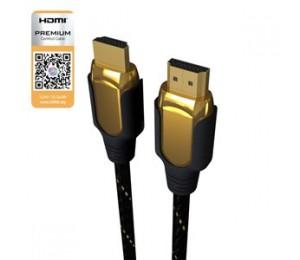 Laser Hdmi 4k Full Size & Mini Hdmi - 1.8m Cb-hdmi2x2-4k
