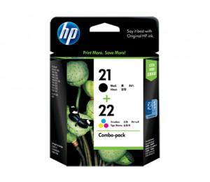 HP 21/ 22 INKJET COMBO PACK CC630AA