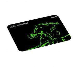 Asus Cerberus Mat Mini Gaming Mouse Pad - Green 90yh01c4-bdua00