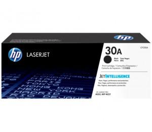 HP 30A Black LaserJet Toner Cartridge, 1600 pg CF230A