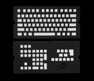 Corsair Gaming Pbt Double-shot Keycaps Full 104/ 105-keyset - White Ch-9000234-ww