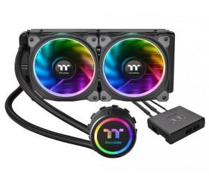 Thermaltake Floe Riing RGB 240 TT Premium Edition two 120mm Riing Plus RGB fans and a LED waterblock