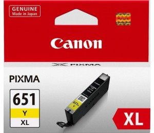 Canon Yellow Extra Large Ink Tank for MX726 MX926 iP7260 MG6360 MG6460 MG7160 MG5460 MG5560 CLI651XLY