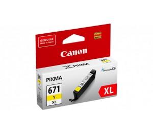 Canon CLI671XLY YELLOW EXTRA LARGE INK TANK CLI671XLY