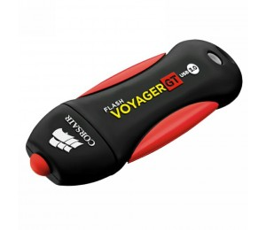 Corsair 64GB Flash Voyager GT USB 3.0, Read 240MBs - Write 100MBs, Plug and Play CMFVYGT3B-64GB