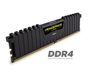 Corsair DUAL CHANNEL: 16GB (2x8GB) DDR4-2133MHz Vengeance LPX Dimm 13-15-15-28 2x288-pin, Black