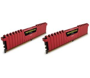 Corsair DUAL CHANNEL: 16GB (2x8GB) DDR4-2400MHz Vengeance LPX Dimm 14-16-16-31 2x288-pin CMK16GX4M2A2400C14R