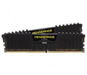 Corsair DUAL CHANNEL : 16GB (2x8GB) DDR4 DRAM 2400MHz C16 Memory Kit - Black CMK16GX4M2A2400C16
