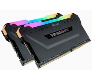 Corsair Vengeance Rgb Pro Ddr4 3200Mhz 32Gb 2 X 288 Dimm Unbuffered 16-18-18-36 Black Heat Spreader