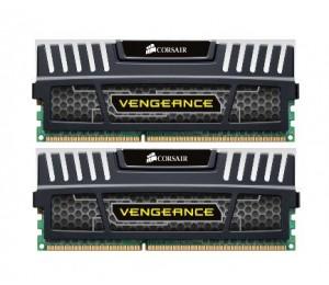 Corsair DUAL CHANNEL: 16GB (2x8GB) DDR3-1600 Vengeance CL9 Dimm CMZ16GX3M2A1600C9