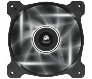 Corsair 120mm Case Fan: Air Series AF120 LED White Quiet Edition High Airflow Single Pack CO-9050015-WLED