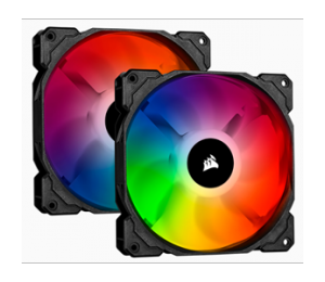 Corsair Icue Sp140 Rgb Pro Performance 140Mm Dual Fan Kit With Lighting Node Core Co-9050096-Ww