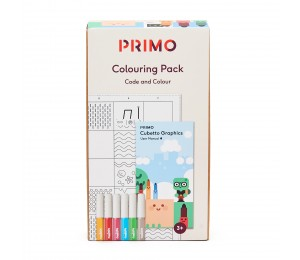 Primo Toys Colouring pack PRIMO022A-EN