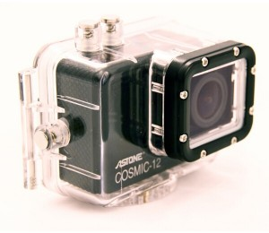 Astone Cosmic-12 Action Camera, 1080p Up To 60fps, 60m Under Water, 1200mah Builtin Litthium-ion