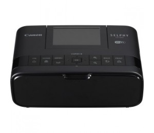 Canon Selphy Cp1300 Black Compact Photo Printer, Wi-fi With Direct Print Cp1300bk