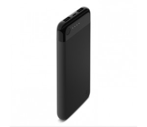 Belkin Power Bank With Lightning Cable 10k Usb(1) Lightning Port(1) Black F7u046btblk