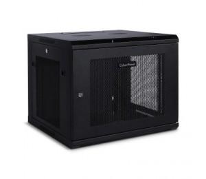 """CyberPower CR9U61001 19"""" 9U 600mm Deep Wall mount Enclosure, Hex Perfoated Metal Door, 60KG"""