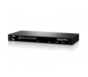 Aten 8 Port Rackmount Usb-Ps/ 2 Vga Kvm Switch With Osd Cs-1308