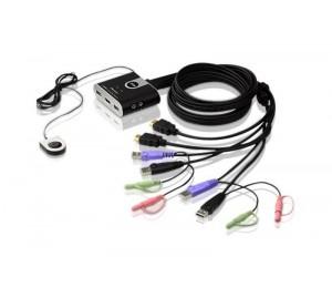 Aten (CS692-AT) 2 Port USB HDMI KVM Switch CS692-AT