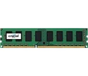Crucial SINGLE CHANNEL: 8GB (1x8GB) DDR3L 1600MHz UDIMM CL11 Dual Voltage 1.35V/ 1.5V MECD3L-1X8G16