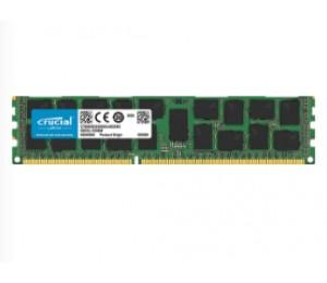 Crucial 16GB DDR3L 1600 MT/ s (PC3-12800) DR x4 RDIMM 240p Server Memory [CT16G3ERSLD4160B] CT16G3ERSLD4160B