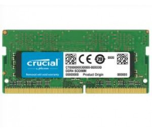 Crucial 16gb Ddr4 (sodimm) Notebook Memory Pc4-21300 2666mhz Life Wty Ct16g4sfd8266