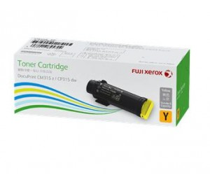 Fuji Xerox Cp315/cm315 Std Toner Cartridge (y) 3k Ct202609