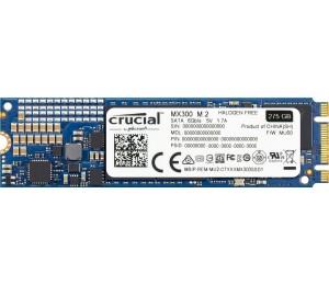 Crucial M.2 SSD DRIVE: 275G MX300 (2280) 530/ 500MB/ s CT275MX300SSD4