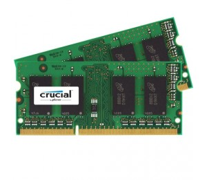 Crucial 8gb Kit (4gbx2) Ddr3l 1866 Mt/ S (pc3-14900) Cl13 Sodimm 204pin 1.35v For Mac Ct2k4g3s186djm