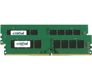 Crucial DUAL CHANNEL :16GB(2x8GB) DDR4 2133 MT/ s (PC4-17000) CL15 DR x8 Unbuffered DIMM 288pin