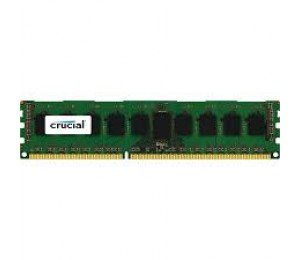 Crucial SINGLE CHANNEL: 4GB DDR3L PC12800 1600Mhz CL11 Dual Voltage 1.35/1.5V Double Ranked CT51264BD160B