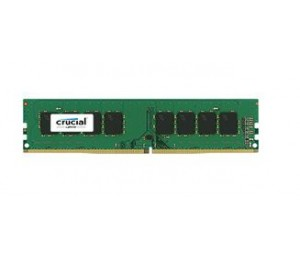 Crucial SINGLE CHANNEL: 8GB DDR4 2133MHz MT/ s (PC4-17000) CL15 SR x8 Unbuffered DIMM 288pin Single