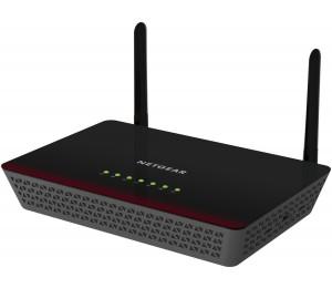 Netgear Modem Router: ADSL2+ AC750 802.11ac Dual Band Gigabit Wireless WiFi D6000-100AUS