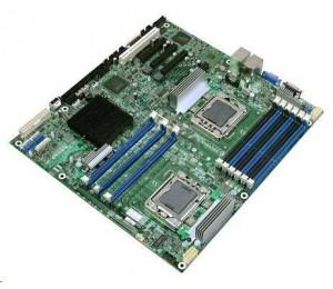 Intel S1200splr Server Motherboard, 1151, C236, Pcie X8 Gen3, 4x Dimm, 2xgbe, D-sub, Uatx Dbs1200splr