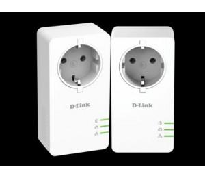D-LINK DHP-P601AV PowerLine AV2 1000 Passthrough Adapter Starter Kit DHP-P601AV
