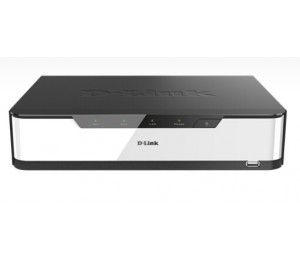 D-LINK NETWORK VIDEO RECORDER (NVR) WITH HDMI/VGA OUTPUT 4 POE PORTS 2 BAYS FOR HDD - 16
