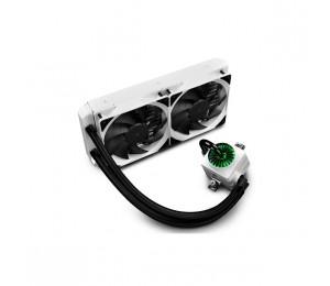 DeepCool White Gamer Storm Captain 240EX RGB Enclosed Liquid Cooling System DP-GS-H12L-CT240RGB-WH