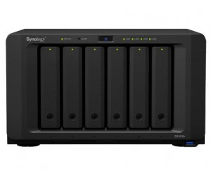 Synology DS1618+ 4GB DiskStation 6-Bay Scalable NAS DS1618+