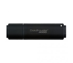Kingston DataTraveler DT4000 32GB Secure USB Drive. With AES 256bit Hardware Encryption [DT4000/