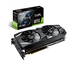 Asus Dual Rtx™ 2070 Overclocked 8G Vr Ready Gaming Graphics Card – Turing™ Architecture Asus-90Yv0C82-M0Na00
