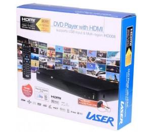 Laser Dvd Player Hdmi Composite & Usb Dvd-hd008