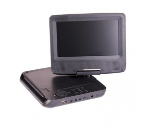 "D-link Portable Dvd Player 7"" With Bonus Pack (headrest Mounts And Earphones) Dvd-pt-7c"
