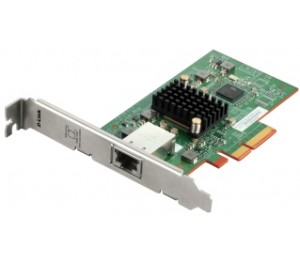 D-LINK 10 GIGABIT 10GBASE-T PCIE ETHERNET ADAPTER DXE-810T