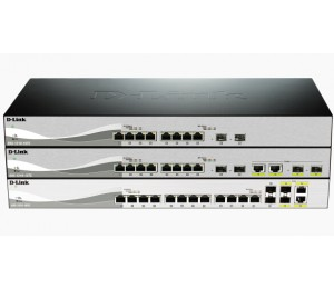D-LINK DXS-1210-10TS 10-PORT 10-GIGABIT WEBSMART SWITCH DXS-1210-10TS
