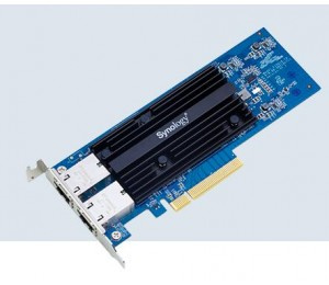 Synology E10g18-t2 10gbe Single Ethernet Adapter Card With Rj-45 Connectors. E10g18-t2