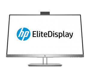 "Hp E243D 23.8"" Ips Docking Monitor 16:9 1920X1080 Hdmi+Vga+Usb-C Tilt Swivel Pivot Height Webcam"